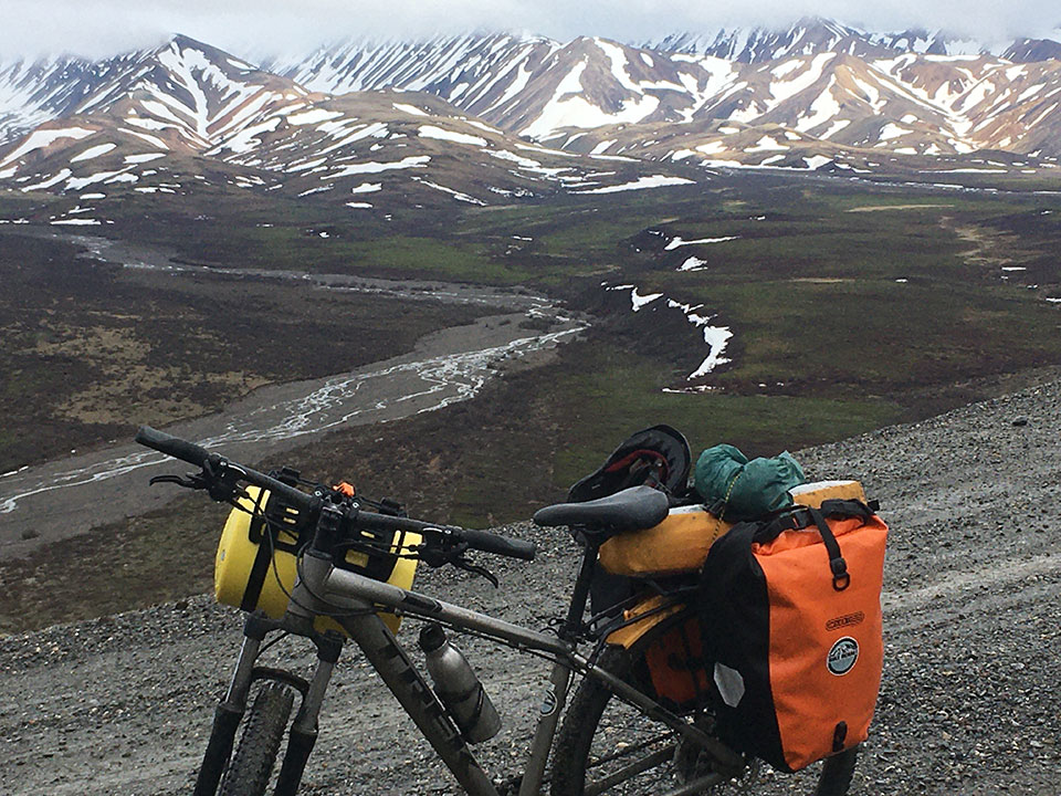 Bikepacking the Denali Park Road in June